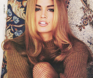cindy crawford, 90s, and model image