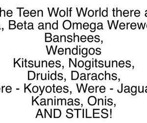 teen wolf, stiles stilinski, and isaac lahey image