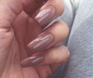 nails, Nude, and slay image