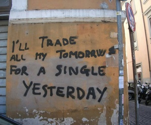quotes, yesterday, and tomorrow image