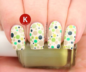 creative, dots, and cream color image