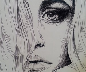 drawing and fineliner art image