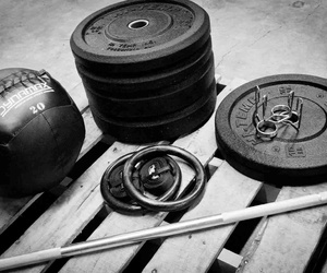 weights, barbell, and crossfit image