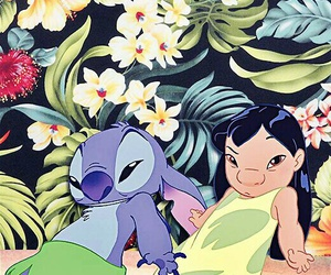 disney, wallpaper, and lilo image