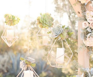candles, decoration, and love image