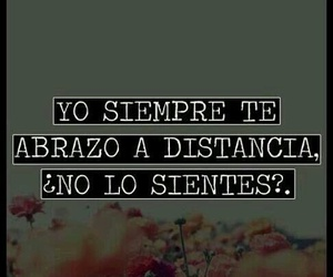 love, distance, and abrazo image
