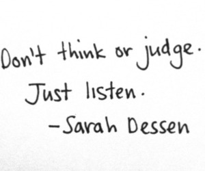 quote, sarah dessen, and text image