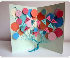 card, diy, and happy birthday image