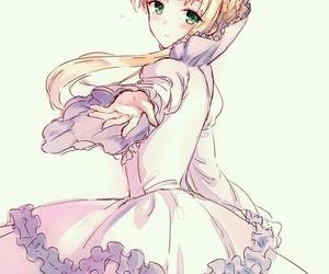 anime girl, aldnoah zero, and anime image