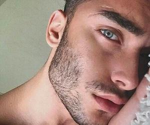 boy, eyes, and Hot image