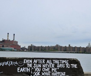 quote, love, and earth image
