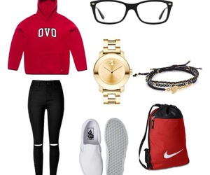 Drake, nike, and ray ban image