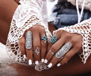 boheme, boho, and nails image