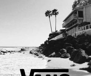 vans, beach, and summer image