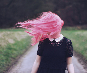 dyed hair, indie, and hipster image