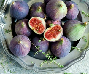 figs, fruit, and purple image