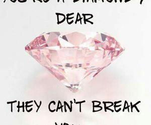 beautiful, diamond, and pink image