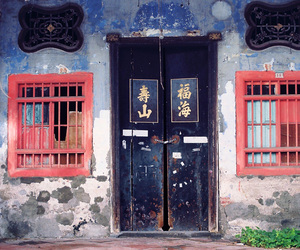 door, old, and Malaysia image