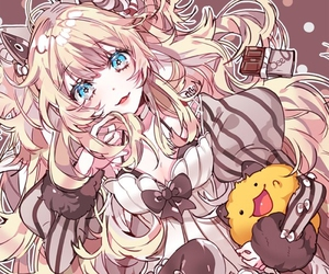 anime girl, vocaloid, and seeu image