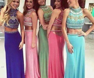 dress, girls, and Prom image