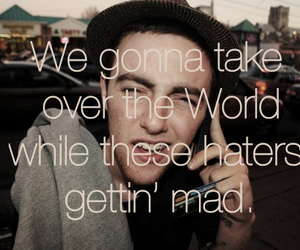 mac miller, quote, and haters image