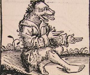 werewolf and hartmann schedel image