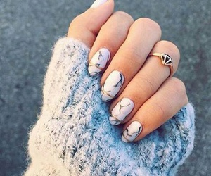 nails and marble image