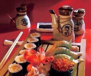 sushi and food image