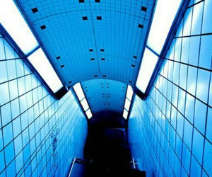 blue, grunge, and light image