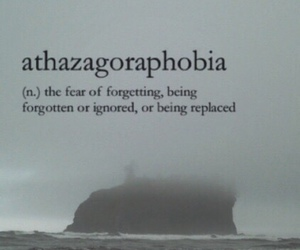phobia, quotes, and sad image