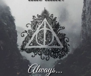 always, deathly hallows, and deer image