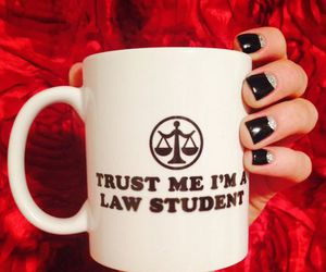 college, exams, and Law image