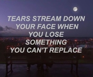 quotes, tears, and coldplay image