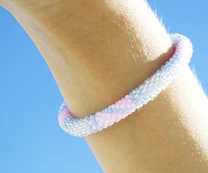 bracelets, czech, and girls image