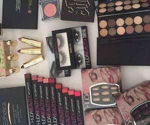 lipstick, fashion, and make up image