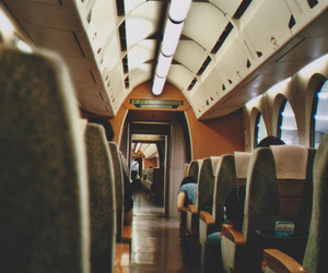 train, photography, and vintage image