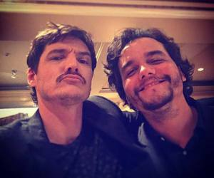 wagner moura, narcos, and pedro pascal image