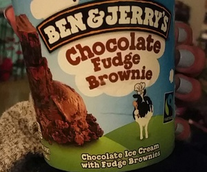 delicious, benandjerry, and iwouldeat image