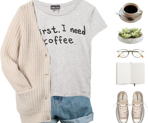 bookworm, cardigan, and casual image