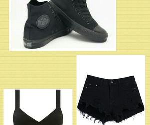 black, cool, and shorts image