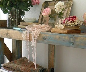 romantic, rose, and vintage image