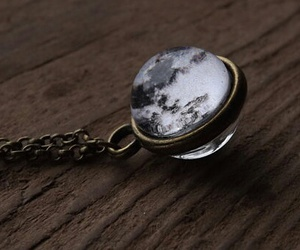 full moon, gift, and jewelry image