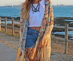 hipster, summer, and boho chic image
