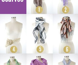 scarf, fashion, and how to image