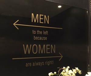 woman, men, and quotes image