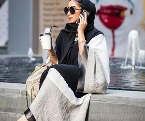 feet and hijab stylish image