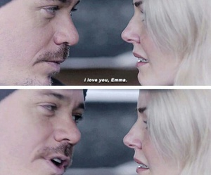 once upon a time, neal cassidy, and emma swan image