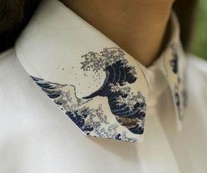 collar, fashion, and japanese art image