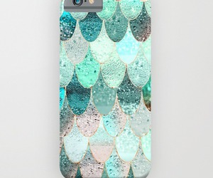 case, mermaid, and scales image
