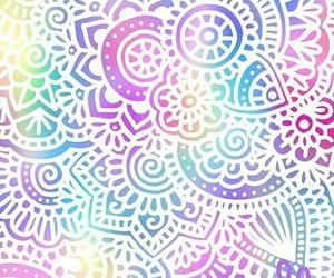 mandala, colors, and background image